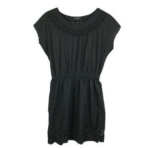 J.Crew Womens Embroidered Scallop Dress Size 6